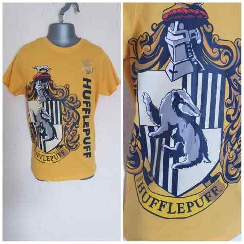 Girls Primark Harry Potter All House of Crest Summer T-Shirt Tee Top Size 4-15