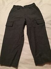 Baby gap boys dress slacks pants size 4 4t gray