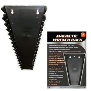 1-Universal-Magnetic-Wrench-Tray-SAE-Metric-Socket-Rack-Toolbox-Organizer-Holder