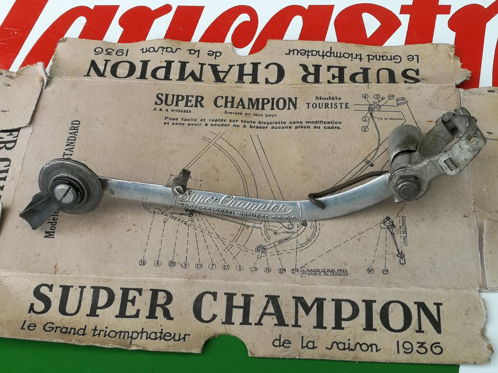 Tendeur derailleur SUPER CHAMPION bici epoca eroica PROFESSIONNEL