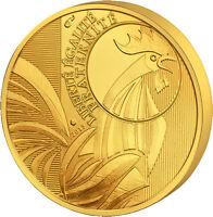100 EURO GOLDMÜNZE - HAHN / FRANKREICH 2015 - GOLDBARREN 999 GOLD