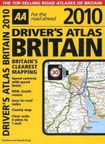 1 of 1 - AA Driver's Atlas Britain 2010 (AA Atlases and Maps) By AA Publishing