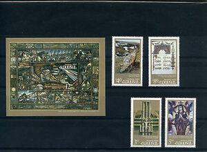 ARMENIA-1993-CULTURA-ARMENA-4-VALORI-SHEET-NUOVI-MNH
