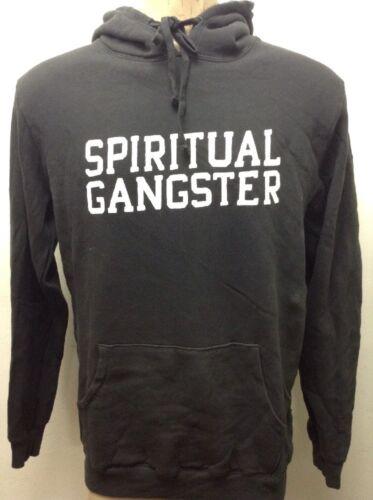 Spiritual Gangster men/'s varsity hoodie pullover vintage black new sz 2xl xl L