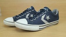 Converse Star Player Cons in Pelle Scamosciata Blu Taglia UK 4 EUR 37