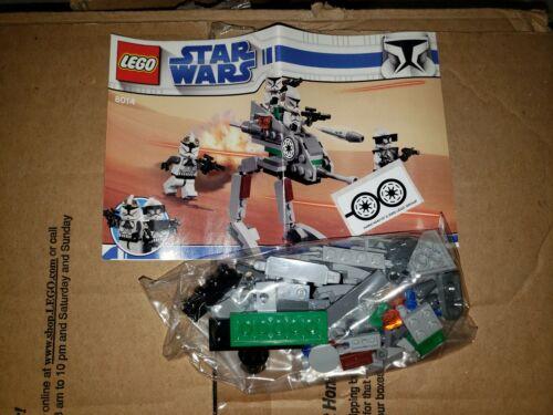 LEGO Star Wars Clone Walker 8014  Walker,Instructions /& Stickers only NO FIGS