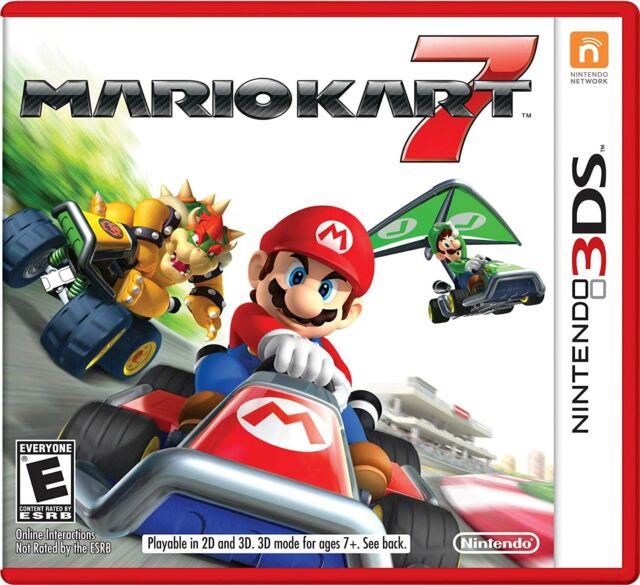 Mario Kart 7 - Nintendo 3DS, 2011 - New & Sealed