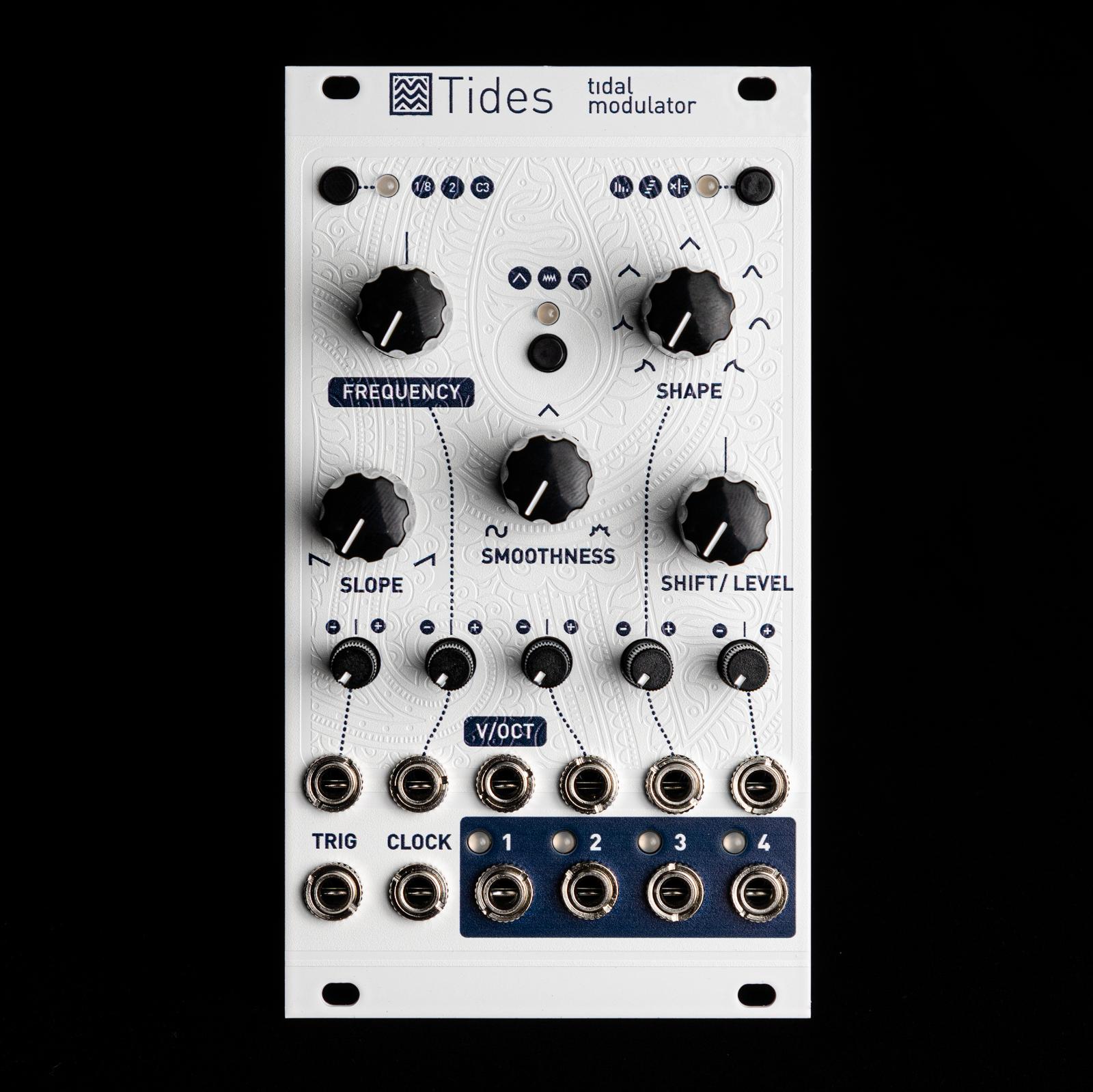Mutable Instruments Tides v2 Eurorack SyntheGrößer Module (Weiß Magpie Texturot)