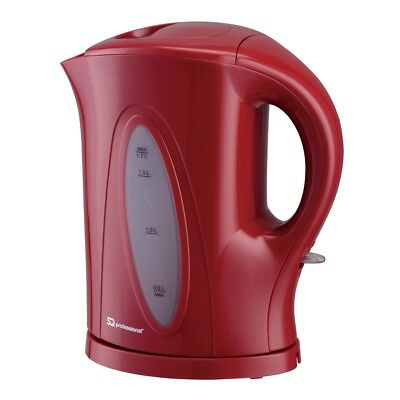 Black White White SQPro Aquen Fast Boil Cordless 2200W Electric Kettle Red