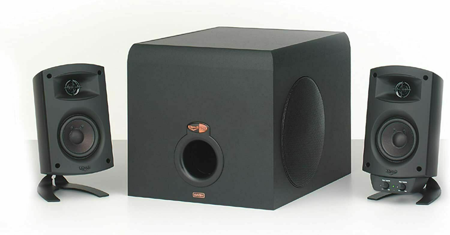Klipsch ProMedia 2.1 THX Certified Computer Speaker System (Black). Buy it now for 94.75
