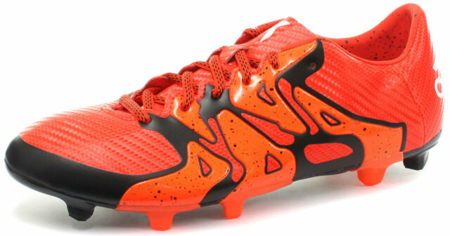 reputable site 7a283 b9a44 New adidas X 15.3 FG/AG Orange Mens Football Boots / Soccer Cleats S83176