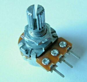 100 5 20 250 K Linear 3 Pin Potentiometer Drehpotentiometer 50 Poti 1 10