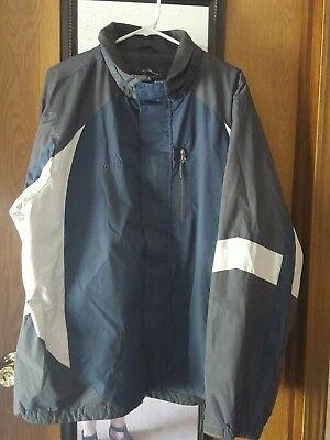 Jacken & Mäntel FREETECH Performance outerwear men's coats Navy XLARGE  Kleidung & Accessoires thelanguagemall.org