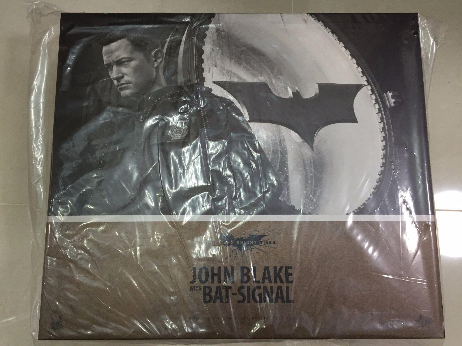 Caliente giocattoli MMS 274 The Dark Knight  Rises Batuomo John Blake Joseph Bat Signal nuovo  Negozio 2018