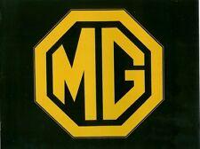 1980 MG MGB DEALER BROCHURE 12 pages