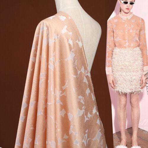 Vestido de noche Flor De Tela Jacquard Disfraz Moda Brocade Damasco tejido 1 M