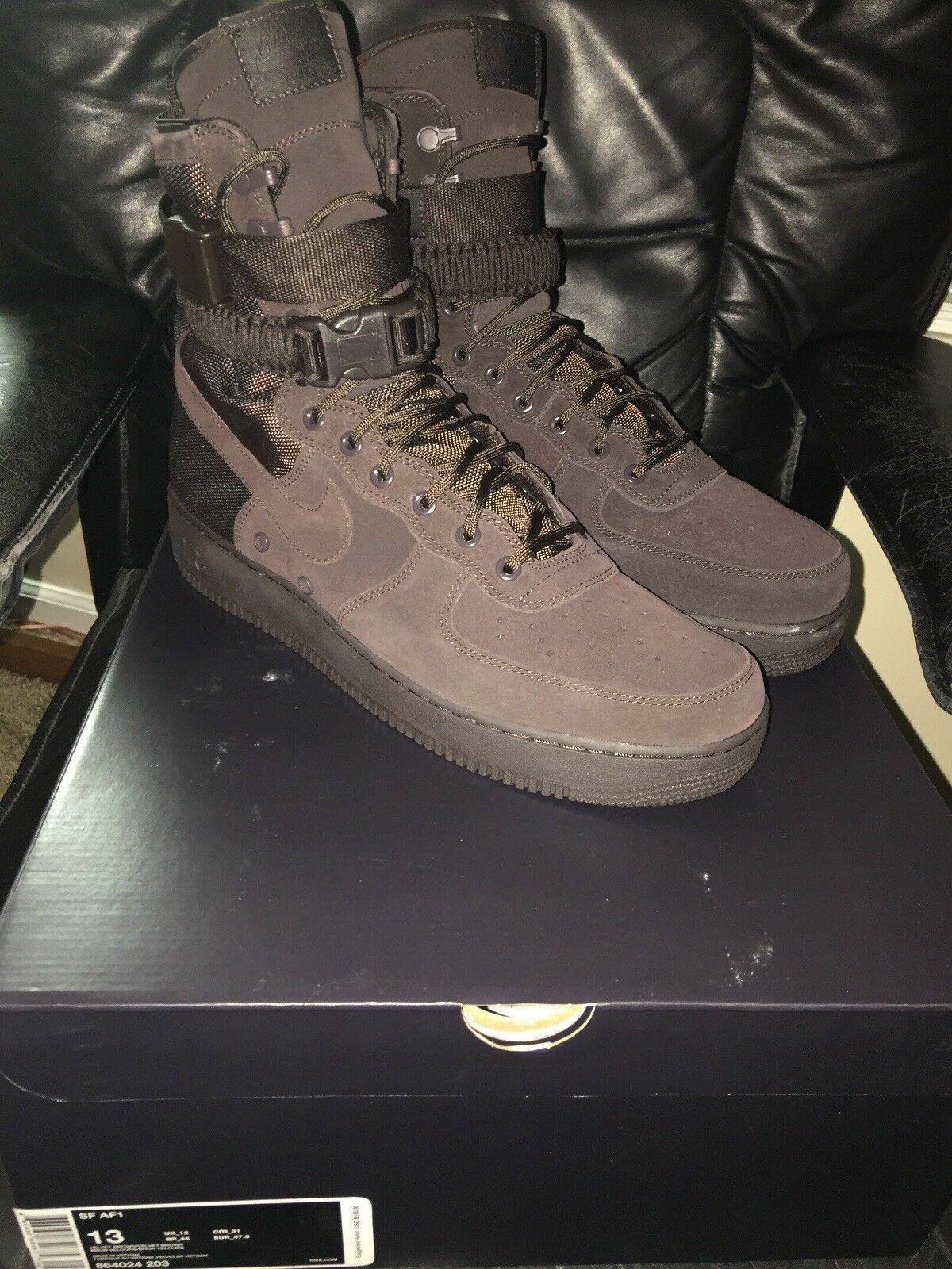 Nike SF AF1 Velvet Brown Comfortable Cheap and beautiful fashion
