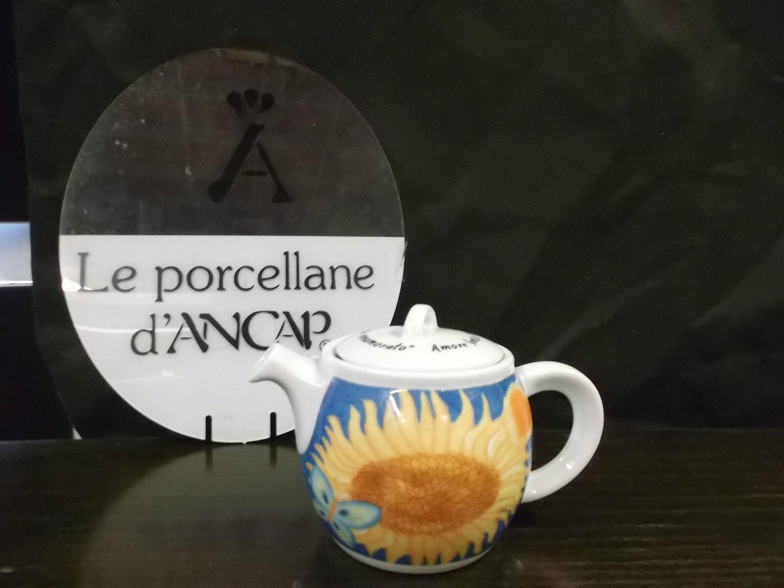 senza esitazione! acquista ora! Teiera ANCAP porcellana serie  il girasole girasole girasole innamorato  -  porcelain teapot  goditi il 50% di sconto