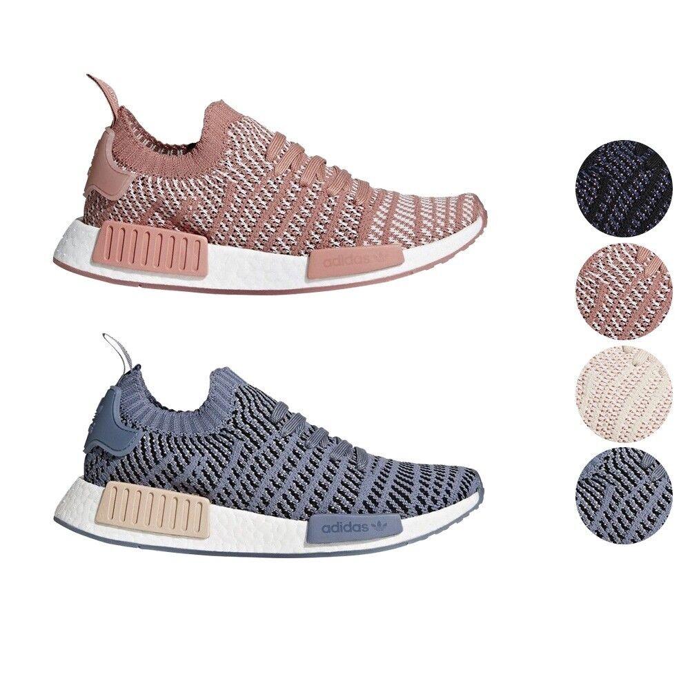 online retailer 47659 14801 Adidas NMD R1 STLT STLT STLT PK Primeknit Boost Women's ...