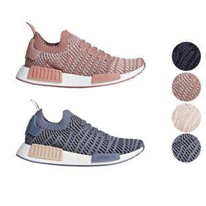Womens Womens NMD R1 STLT Primeknit Sneakers adidas QO3BYFXz