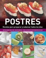 Enciclopedia de Cocina: Postres (Spanish Edition) (Cook's Ency Pull-Out)