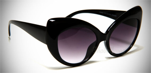 Black Cat Eye Retro Eyewear Classic Women Shades Vintage Fashion Sunglasses