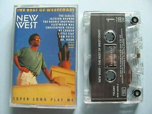 New-West-Best-Of-West-Coast-Various-Artists-1990-Cassette-WORKS-Eagles-Petty
