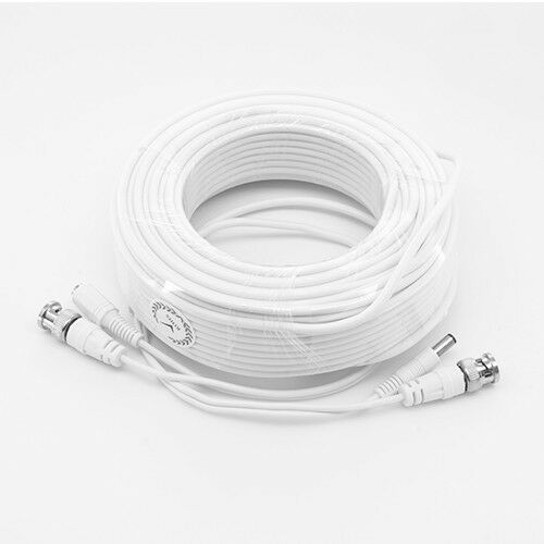 SDS-P5122 PREMIUM WHITE 200FT CCTV BNC CABLES FOR 16 CH SAMSUNG SDS-P5102