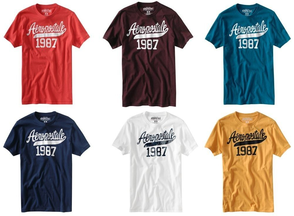 LOT OF 10 AEROPOSTALE MENS & 10 WOMENS T-SHIRTS YOU CHOOSE THE SIZES NWT