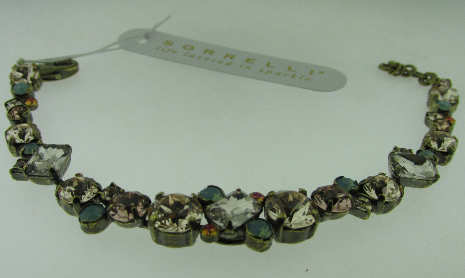 Sorrelli Apricot Agate BDG46AGAP Bracelet  Antique gold tone