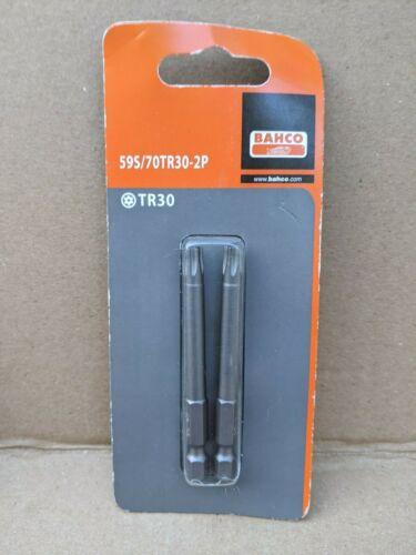 BAHCO TR30 70 mm indéréglable Carburateur Torx Bits Twin Pack
