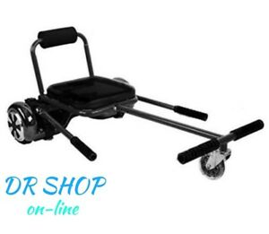 hoverkart accessoire pour hoverboard si ge auto si ge b b de s ance overboard ebay. Black Bedroom Furniture Sets. Home Design Ideas