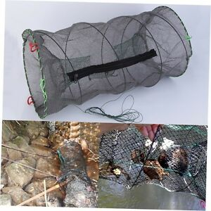 US-Crab-Crayfish-Lobster-Catcher-Pot-Trap-Fish-Net-Eel-Prawn-Shrimp-Live-Bait-C2