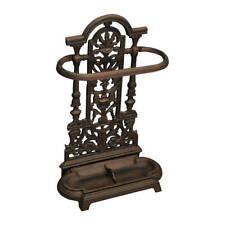 Woodside Ornate Vintage Cast Iron Umbrella//Walking Stick Stand