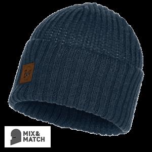 BUFF HEADWEAR-Rutger Médiéval Bleu Knitted Hat 117845.783.10.00