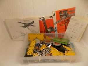 SMALL-SELECTION-OF-VINTAGE-MECCANO-HOUSE-CLEARANCE-FIND-UNKNOWN-NCB