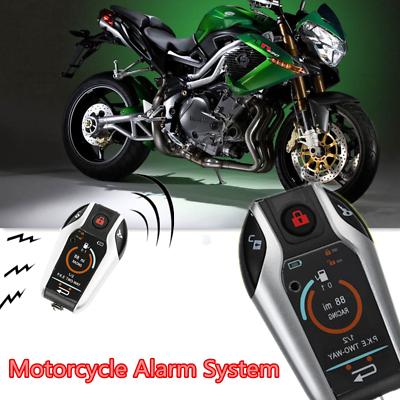 Motos 2 Way Anti-Theft Vibration Système D/'AlArme Moteur 105-125DB Starter Kit