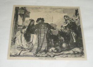 1879-magazine-engraving-PUBLIC-LETTER-WRITER-Madrid-Spain