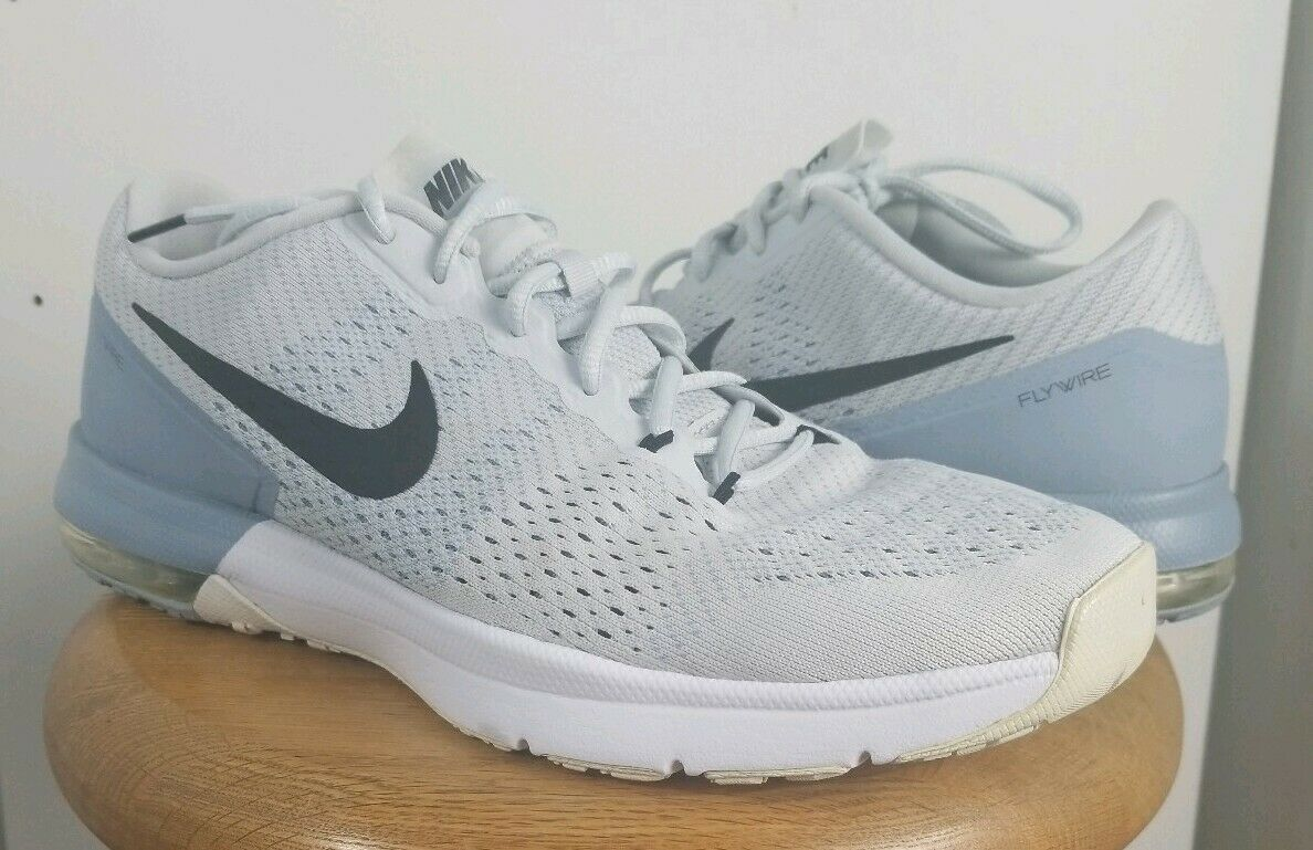 Nike Air Max Typha 820198 001 Men Running shoes Sz 12 Pure Platinum Trainers