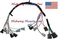 Dash Instrument Cluster Wiring Harness 60-66 Chevy Pickup Truck Suburban
