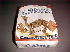 Made In Italy Camel Cigarettes Pack White Brown 8 x 6 x 3 Ceramic Ashtray