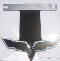 C6 Corvette Exhaust Plate Carbon Fiber/blackout Options - Works With Npp