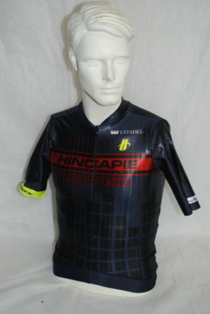 Hincapie Sportswear Pro Cycling Team Arrow Jersey Medium NEW