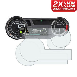 2-x-BMW-K1600-2017-All-Models-Dashboard-Screen-Protectors-Ultra-Clear