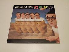 DEVO - OH NO IT'S DEVO - LP 1982 VIRGIN RECORDS MADE IN ITALY - OIS - VG++/VG++