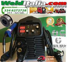 SALDATRICE A FILO CONTINUO WELDITALIA TIG INVERTER MIG 200A ELETTRODO GAS NO GAS