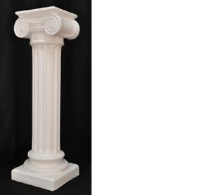 Grecque antique Style piliers pilier chronique support de fleurs décoration deco 1048