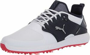 Puma-Men-039-s-Shoes-Ignite-PWRADAPT-Caged-Low-Top-Lace-Up-Silver-Size-13-0-O2qA