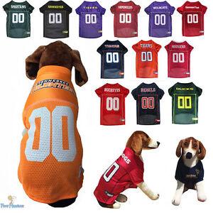 NCAA Pet Fan Gear Dog Jersey Shirt for Dogs PICK YOUR TEAM BIG SIZE ... 741346cda