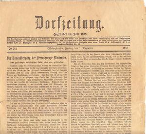 Dorfzeitung-Hildburghausen-Freitag-den-1-Dezember-1916